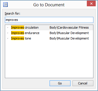 Go to Document